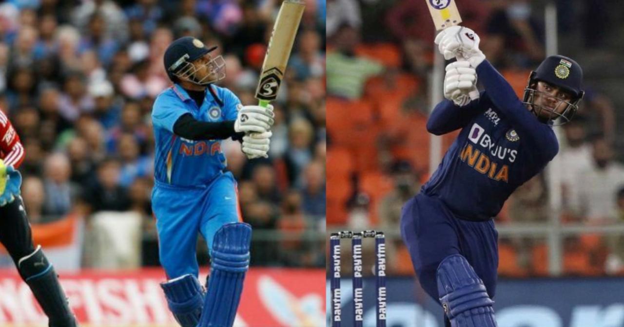 T20I debut
