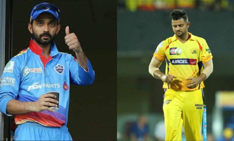 Suresh Raina Ajinkya Rahane could lead new teams in IPL 2022