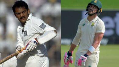 dismissed for 199 in Test Cricket