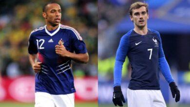 Highest number of goals for France