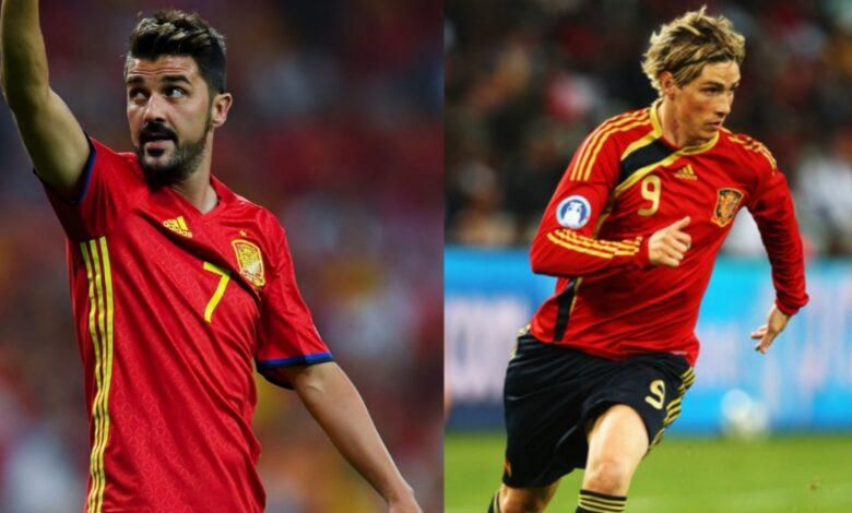 Highest Number of goals for Spain