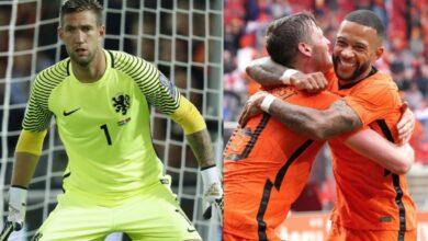 Netherlands' playing XI
