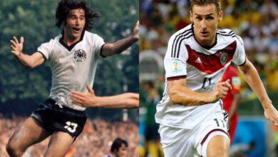 highest international goals for Germany