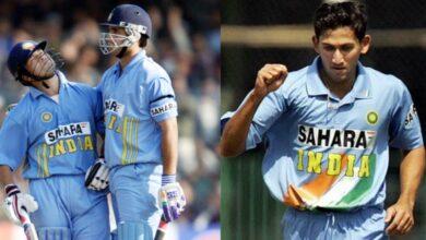 Playing XI when Sourav Ganguly