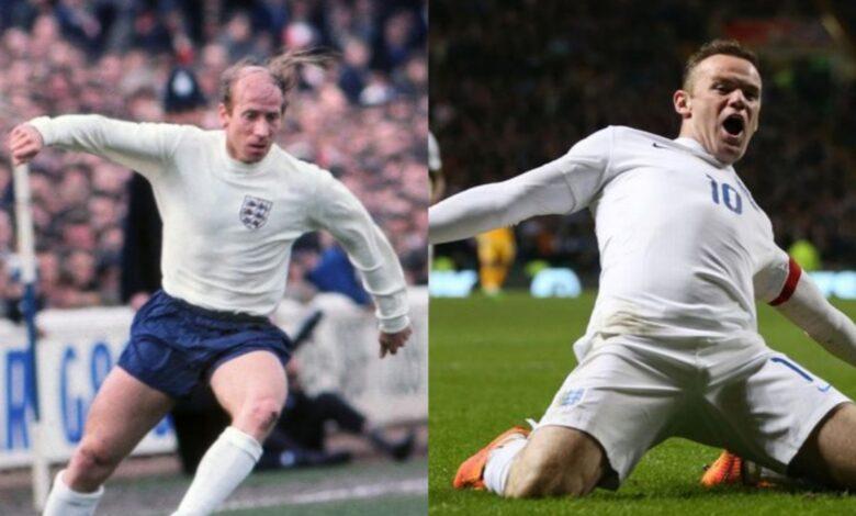 England's highest goal-scorers