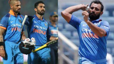 Virat Kohli playing XI