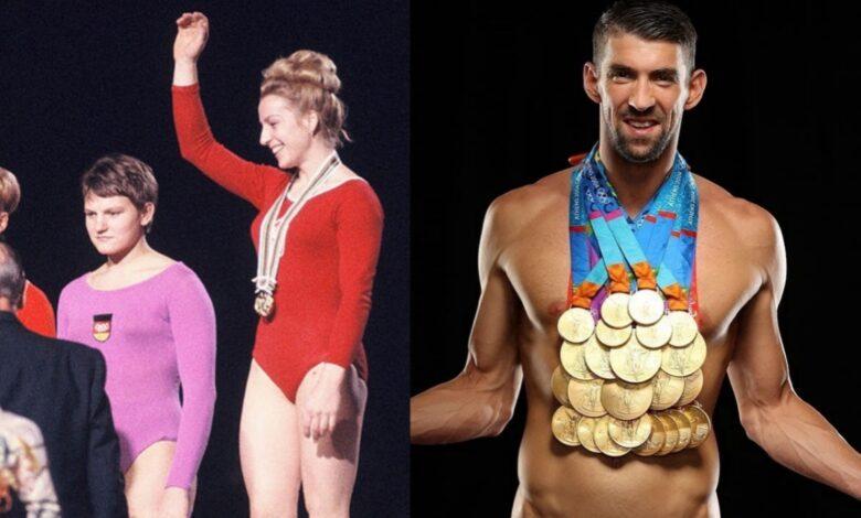 most medals Olympics