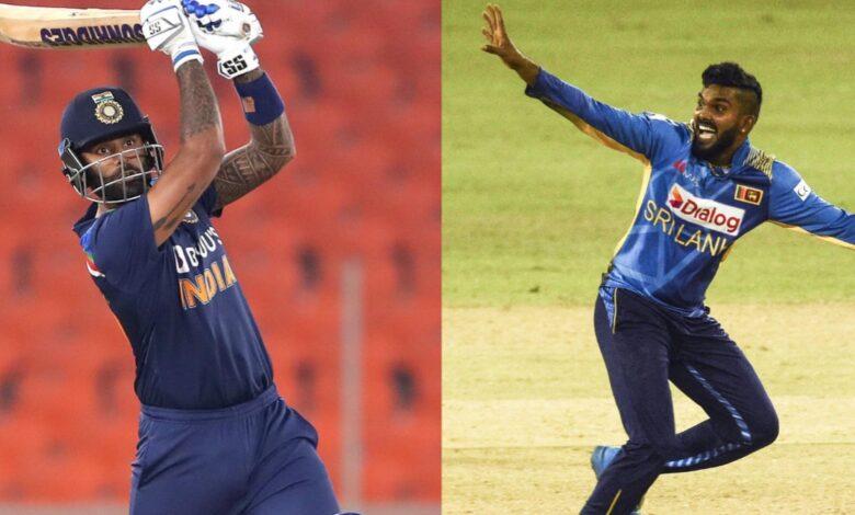India vs SL T20I