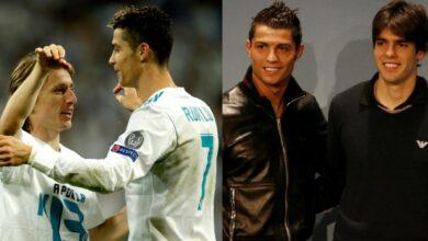Ronaldo finished second