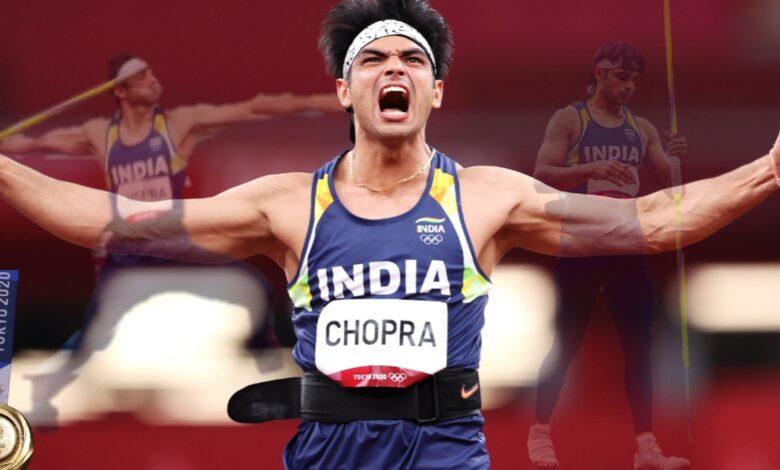Neeraj Chopra's records