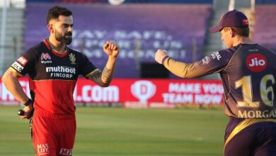 RCB And KKR Predicted Playing XI