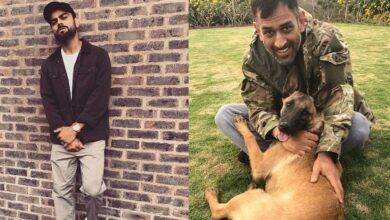 5 cricketers with the most number of followers on Instagram.